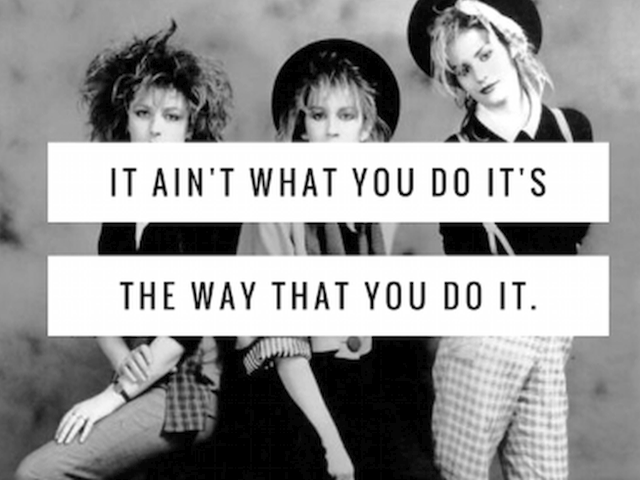 Bananarama & Fun Boy Three – It Ain't What You Do, It's The Way That You Do It