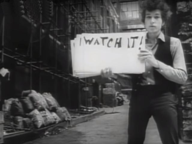 Bob Dylan – Subterranean Homesick Blues