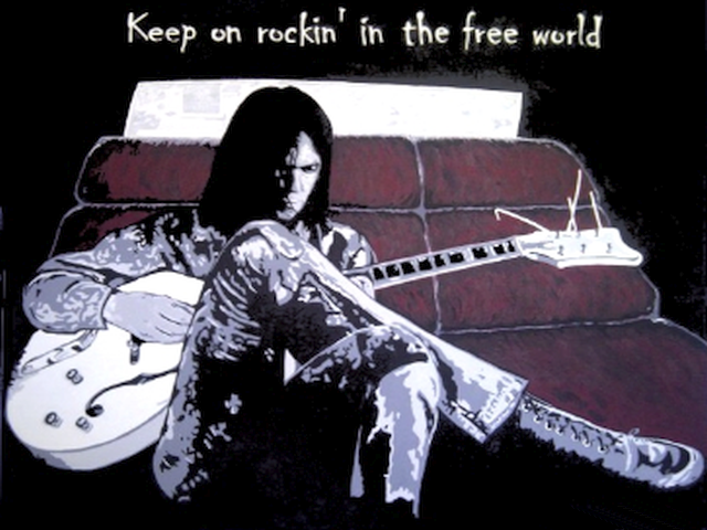 Neil Young – Rockin In The Free World