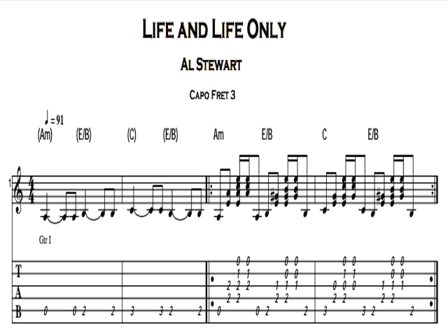 Al Stewart – Life And Life Only