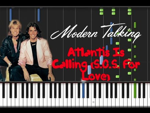 Modern Talking - Atlantis Is Calling Remix (DJ Nikolay D Remix)