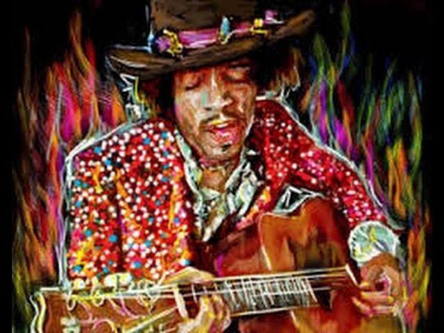 Jimi Hendrix - Various Acoustic