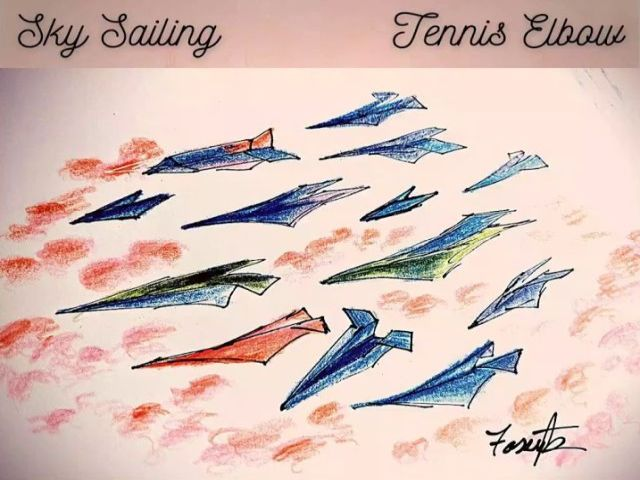 Sky Sailing - Tennis Elbow