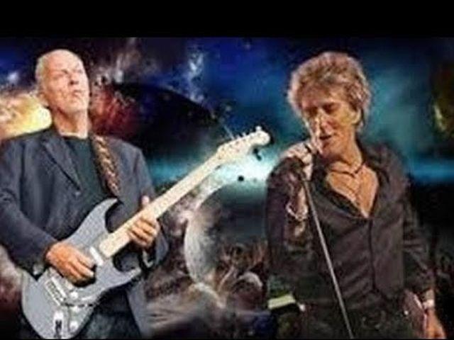 Rod Stewart & David Gilmour - In A Broken Dream