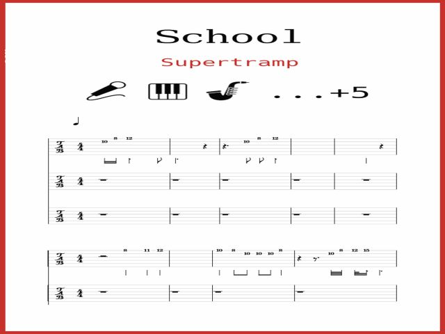 Supertramp - School
