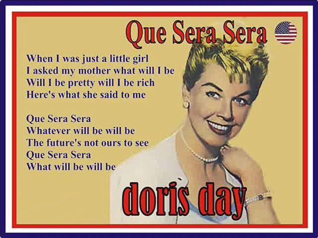Doris Day - Que Sera, Sera (Whatever Will Be, Will Be)